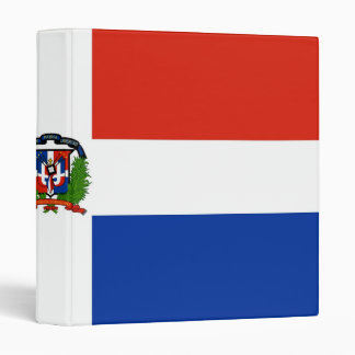 Flag of the Dominican Republic Binder