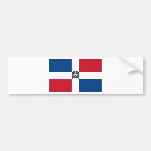 Flag of the Dominican Republic Bumper Sticker