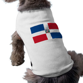Flag of the Dominican Republic Doggie T-shirt