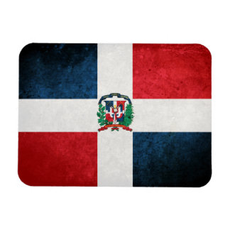 Flag of the Dominican Republic Flexible Magnets