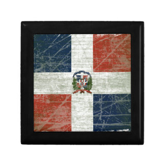 FLAG OF THE DOMINICAN REPUBLIC JEWELRY BOX