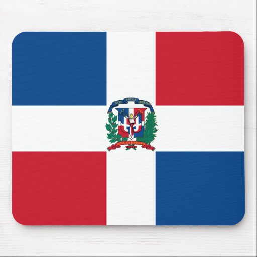 Flag of the Dominican Republic Mouse Pad