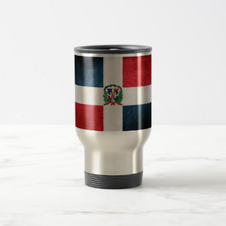 Flag of the Dominican Republic 15 Oz Stainless Steel Travel Mug