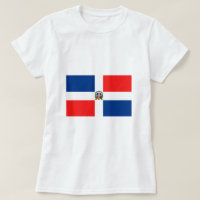 Flag of the Dominican Republic T-Shirt