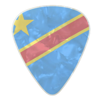 Flag of the DR Congo Guitar Picks