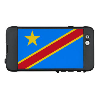 Flag of the DR Congo LifeProof iPhone Case