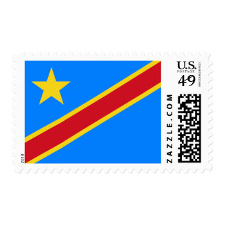 Flag of the DR Congo Postage Stamps