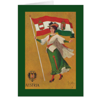 Flag of the Dual Monarchy (Austria-Hungary) Greeting Card