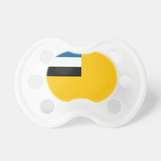 Flag of the Empire of Manchukuo 滿洲國; 满洲国; 滿洲国 Pacifier