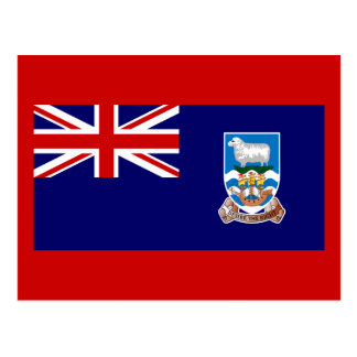 Flag of The Falkland Islands Post Card