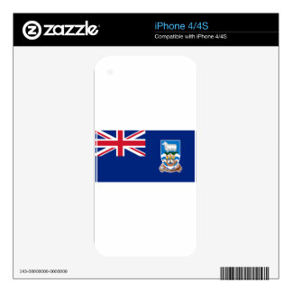 Flag of the Falkland Islands - Union Jack iPhone 4 Decals