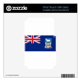 Flag of the Falkland Islands - Union Jack iPod Touch 4G Skin