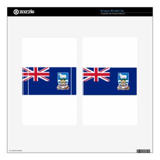 Flag of the Falkland Islands - Union Jack Skin For Kindle Fire