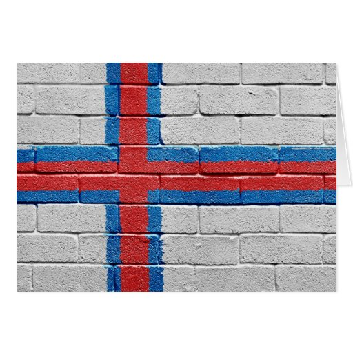 Flag of the Faroe Islands Card