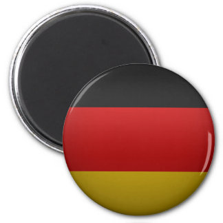 flag of the Federal Republic of Germany 2 Inch Round Magnet