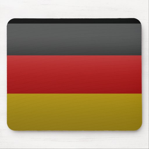 flag of the Federal Republic of Germany Mouse Pad
