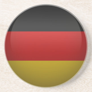 Flag of the Federal Republic of Germany. Sandstone Coaster