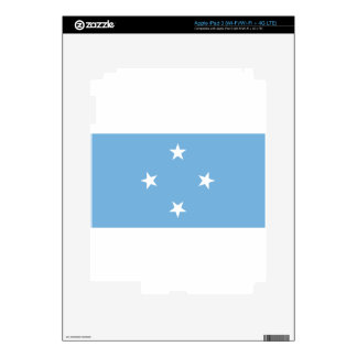 Flag of the Federated States of Micronesia Decals For iPad 3