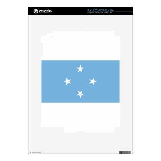 Flag of the Federated States of Micronesia iPad 2 Skin