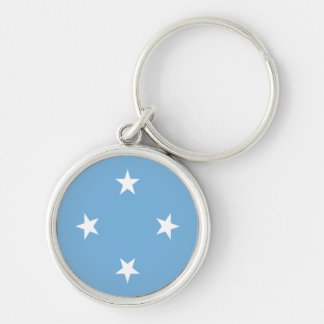 Flag of the Federated States of Micronesia Keychain