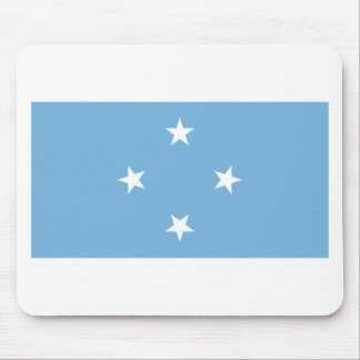 Flag of the Federated States of Micronesia Mouse Pad