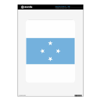 Flag of the Federated States of Micronesia Skin For The iPad