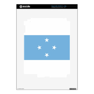 Flag of the Federated States of Micronesia Skins For iPad 2
