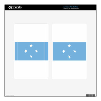 Flag of the Federated States of Micronesia Skins For Kindle Fire
