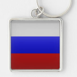Flag of the Federation of Russia Keychain