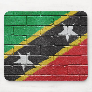 Flag of the Federation of Saint Kitts and Nevis Mouse Pad