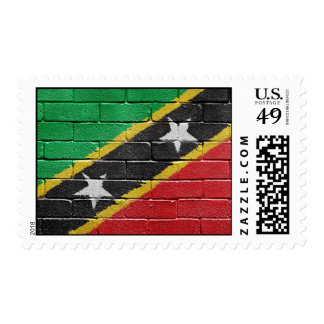 Flag of the Federation of Saint Kitts and Nevis Postage