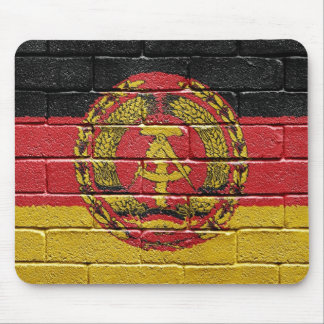 Flag of the former German Democratic Republic Mouse Pad