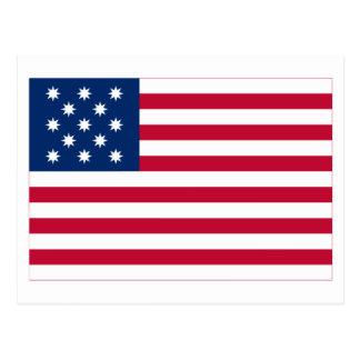 Flag of the Frigate Alliance Postcard