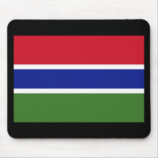Flag of The Gambia Mouse Pad