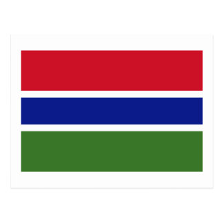 Flag of The Gambia Post Cards