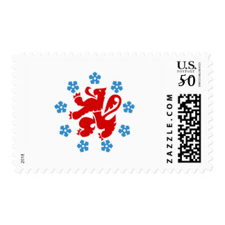 Flag of the German Community Postage Stamps