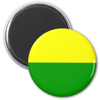 Flag of The Hague 2 Inch Round Magnet