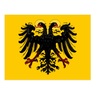 Flag of The Holy Roman Empire Postcard