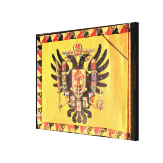 Flag of the Imperial Habsburg Dynasty, c.1700 Canvas Print