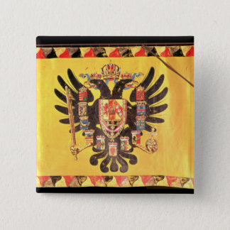 Flag of the Imperial Habsburg Dynasty, c.1700 Pinback Button