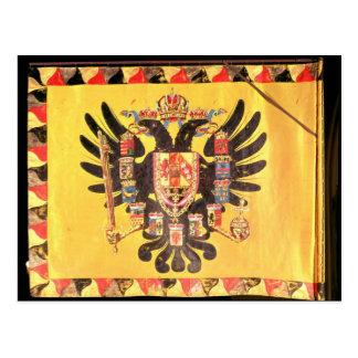 Flag of the Imperial Habsburg Dynasty, c.1700 Postcard