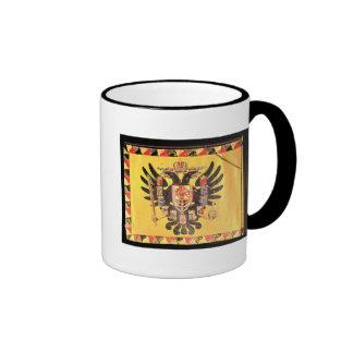 Flag of the Imperial Habsburg Dynasty, c.1700 Ringer Mug