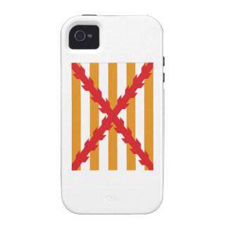 Flag of the Invincible Navy iPhone 4 Case