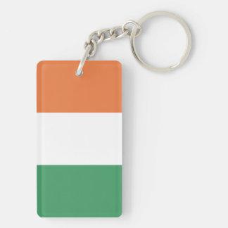 Flag of the Ireland Keychain