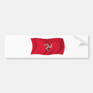 Flag of the Isle of Man Bumper Sticker