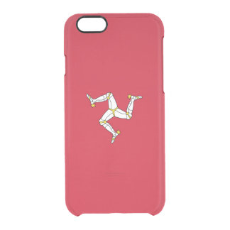 Flag of the Isle of Man Clear iPhone Case