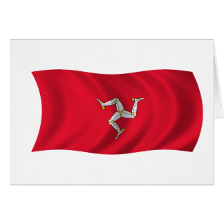 Flag of the Isle of Man Greeting Card