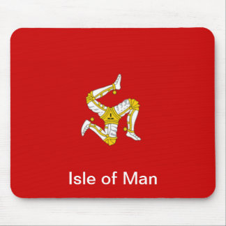 Flag of  the Isle of Man Mouse Pad