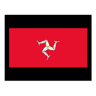 Flag of The Isle of Man Postcard