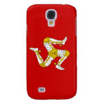 Flag of the Isle of Man Samsung Galaxy S4 Covers